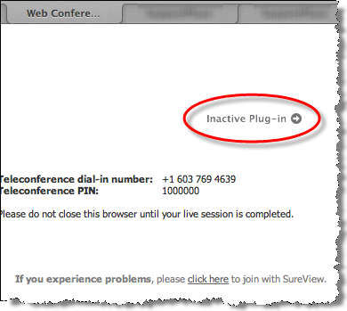 inactive plugin mac java 10.7